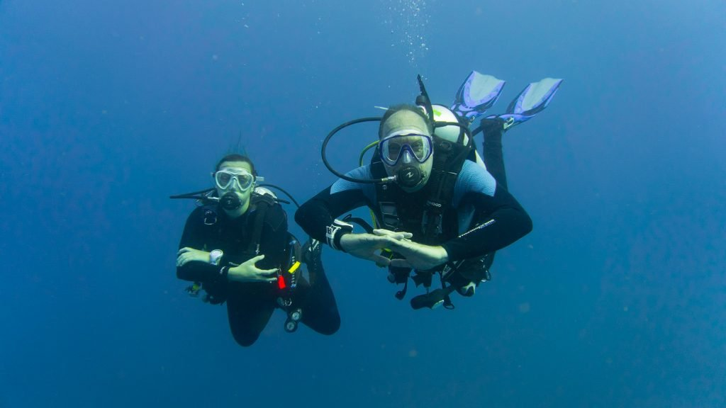 Father Daughter Scuba Divers