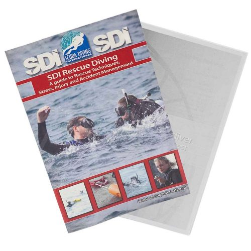 SDI Rescue Diving manual